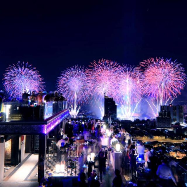 Happy New Year 2019 – Marriott Surawong Bangkok