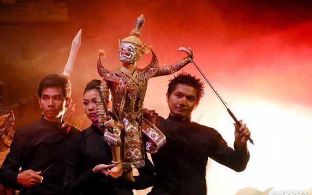 Thai Puppet Show