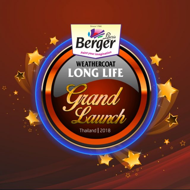 BERGER Product Launch Event – Pattaya 2018