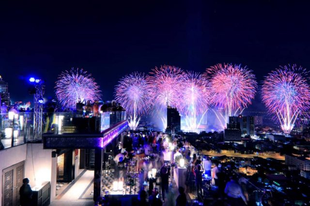 Happy New Year 2019 – Marriott Surawong Bangkok